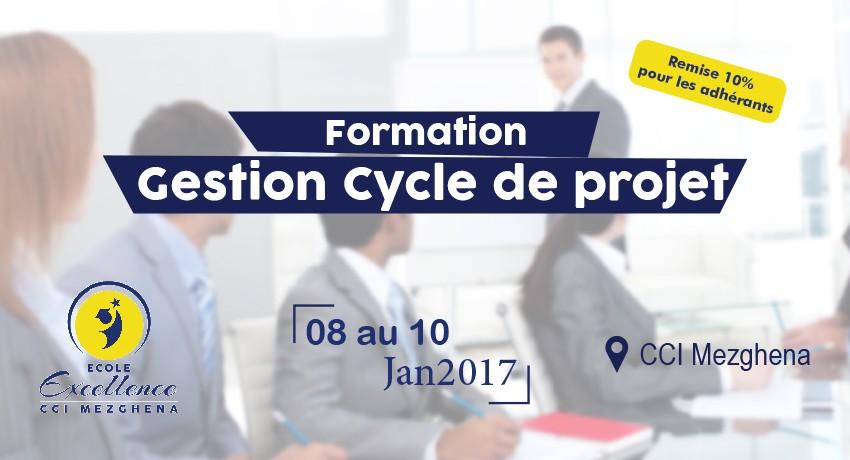 Formation à la GCP : gestion d'un cycle de projet