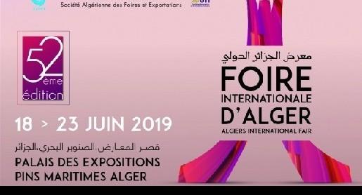 La 52ème Foire Internationale d'Alger
