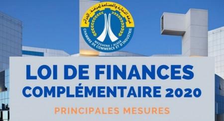 Loi de Finances Complémentaire pour 2020_Mesures phares