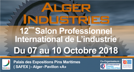 SALON INTERNATIONAL ALGER INDUSTRIE 2018