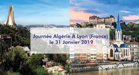 Journée Algérie À Lyon (France) le 31 Janvier 2019